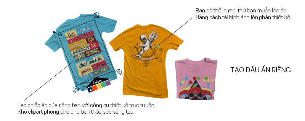 thiết kế áo online